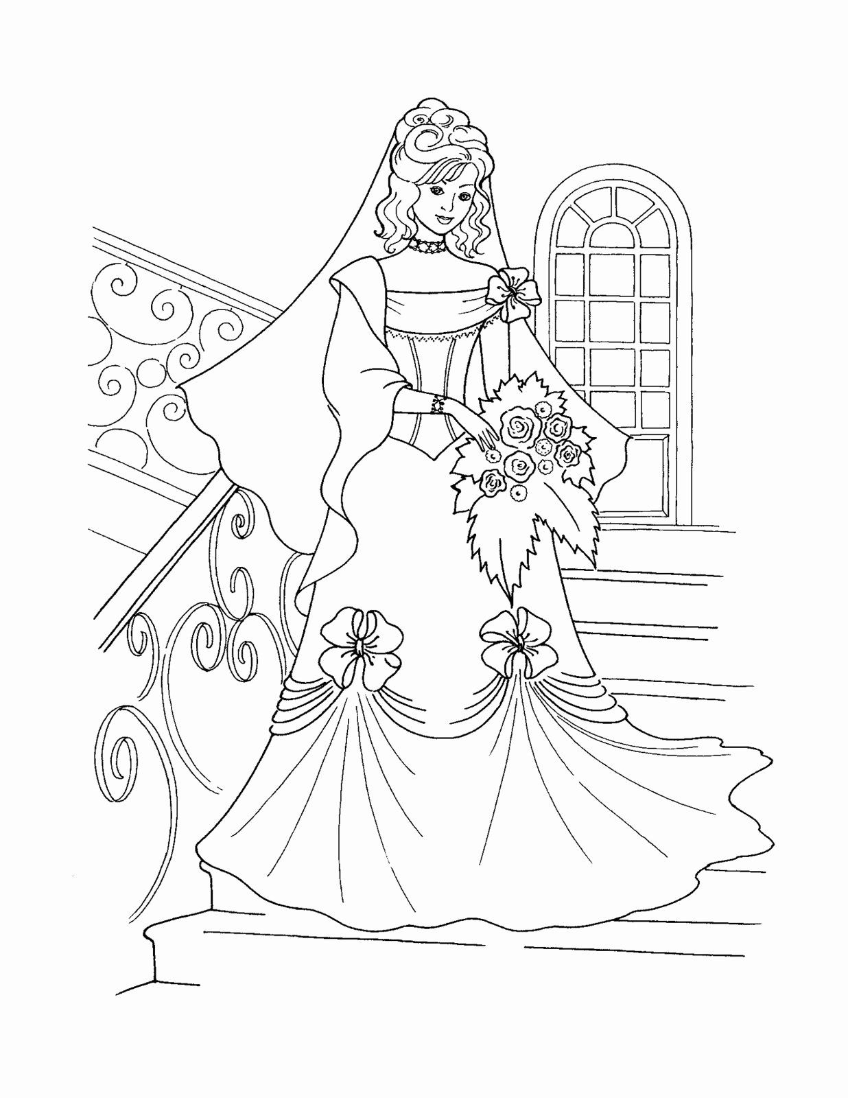 Princess Bride Coloring Book Elegant Princess Coloring Pages Best Coloring Pages Disney Princess Coloring Pages Princess Coloring Pages Wedding Coloring Pages