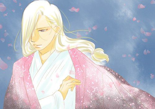 This light-coloured Narsus has pouted lips and twisted fingers, Arslan Senki fanart