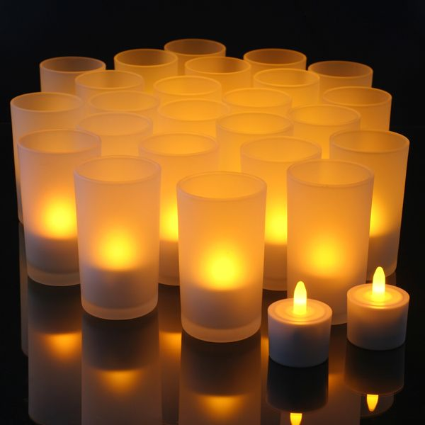 Flameless Candles And Tea Lights