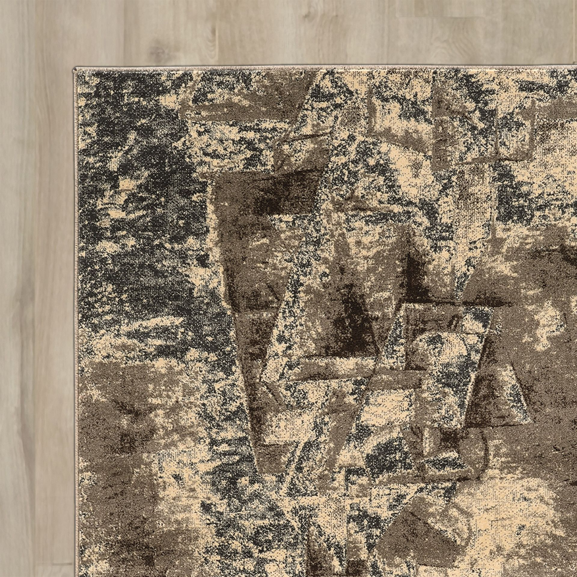 Natalee Gray/Taupe Area Rug