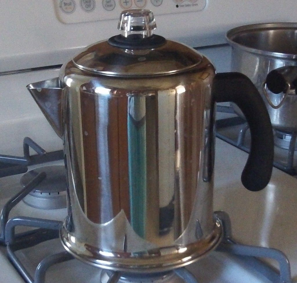 How to Use a Stove Top Coffee Percolator Camping coffee