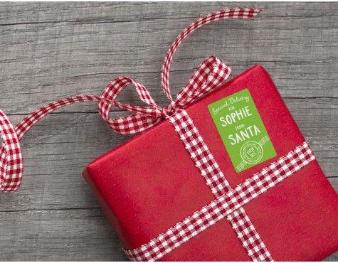Personalised Santa Gift Labels Personalised Gift Ideas Pinterest