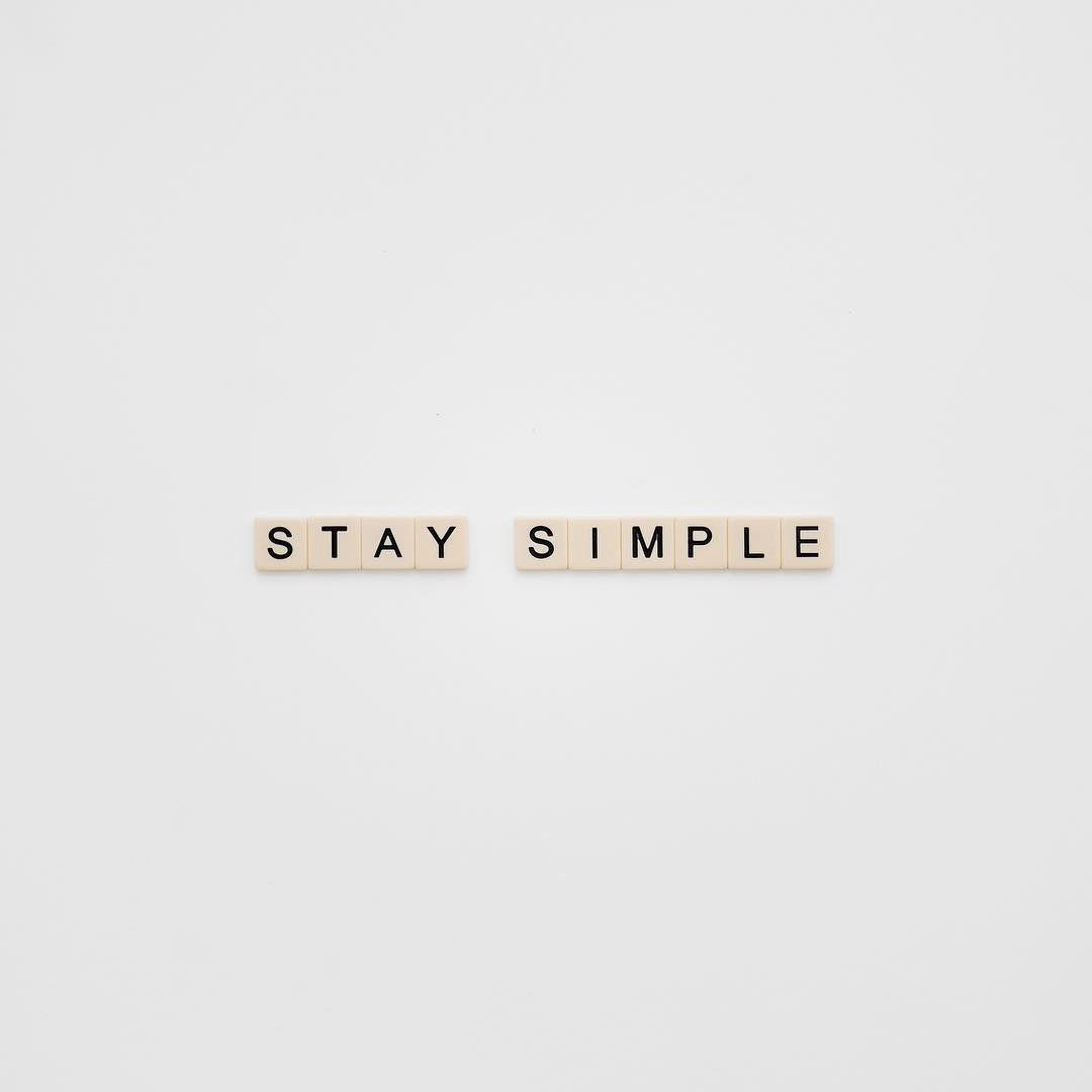 serainasilja | stay simple | www serainasilja de | Something to Live