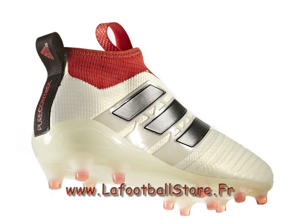 34530bfcb31 Adidas Homme Football ACE 17+ Purecontrol champagne terrain souple Core  Black Red BA7599