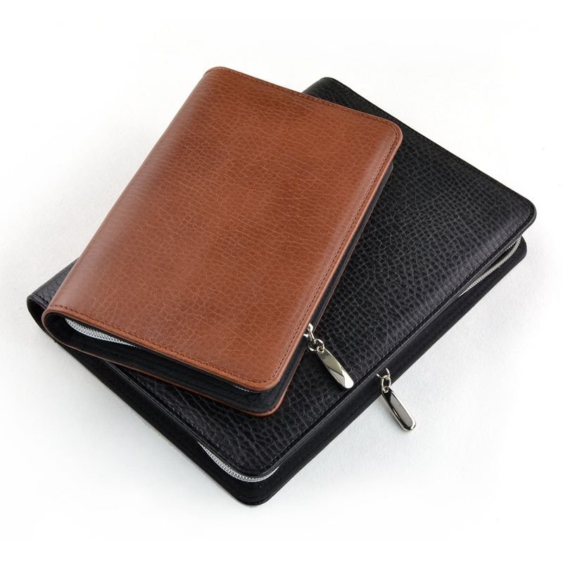 Zipper Organizer Notebook, Business Notebook Zippered