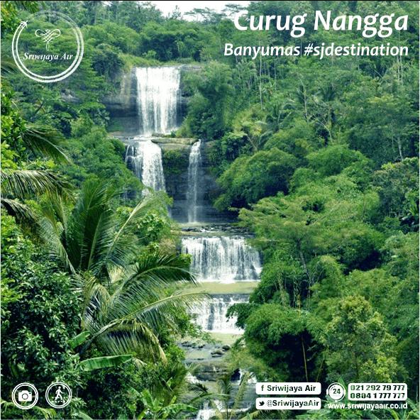 Banyaknya Pegunungan Di Indonesia Membuat Negara Ini Juga Memiliki Banyak Air Terjun Yang Menawan Salah Satunya Curug Nangga Curug N Waterfall Travel Outdoor