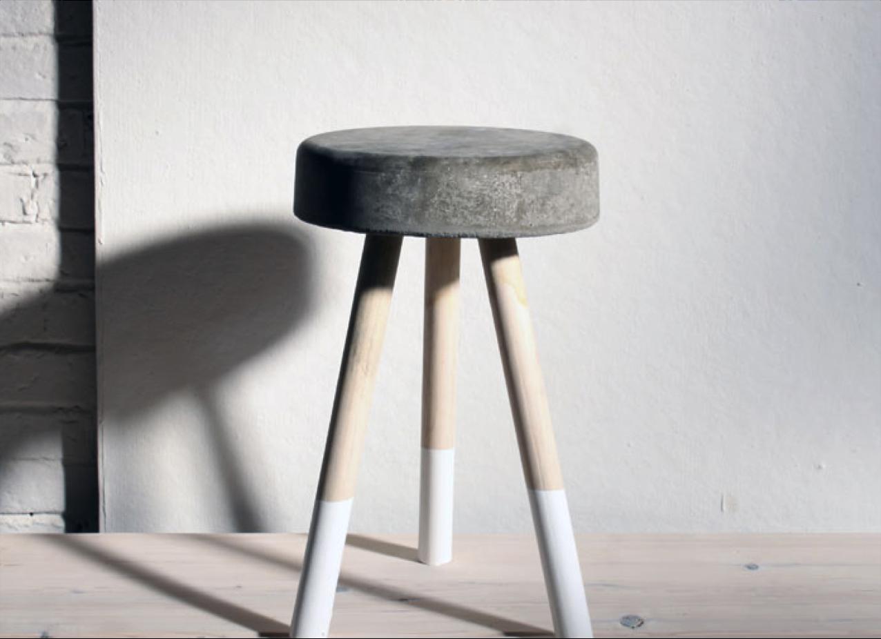 eine detaillierte anleitung um einen hocker aus beton selber herzustellen zahlreiche weitere. Black Bedroom Furniture Sets. Home Design Ideas