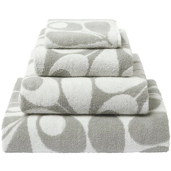 What Is A Bath Sheet Orla Kiely Acorn Cup Towel  Light Granite  Bath Sheet $55