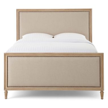 Gabriella Upholstered Bed Found At Jcpenney Bedroom Furniture Furniture Upholstered Beds