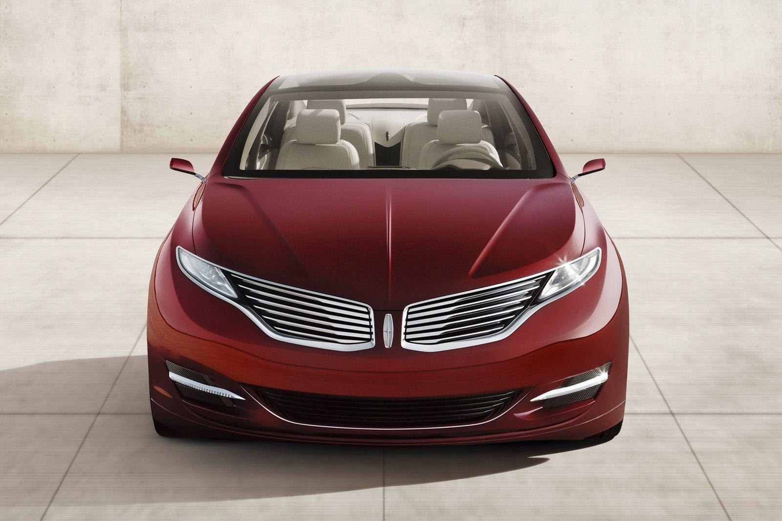2018 lincoln mkz sedan concept