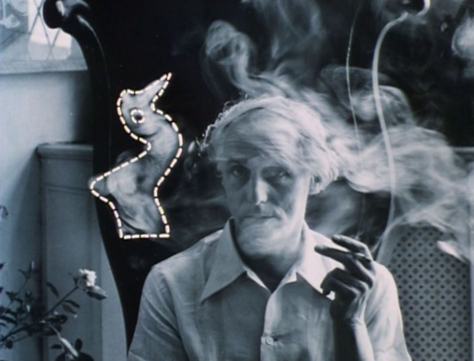 Max Ernst, a photo of the man.