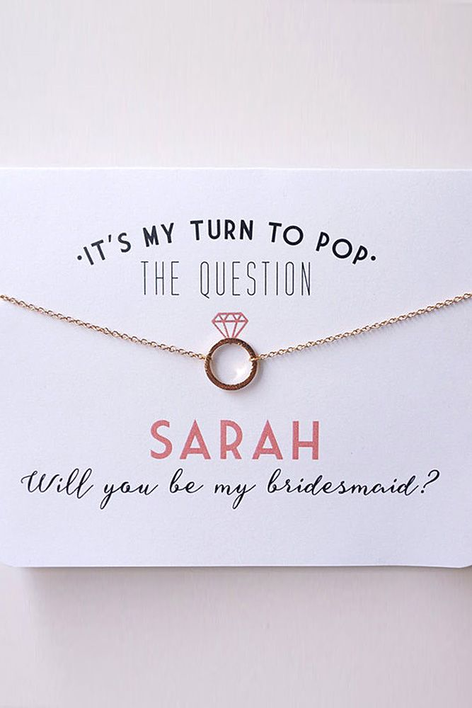 28 Bridesmaid Proposal Super Fabulous Ideas | Wedding Forward