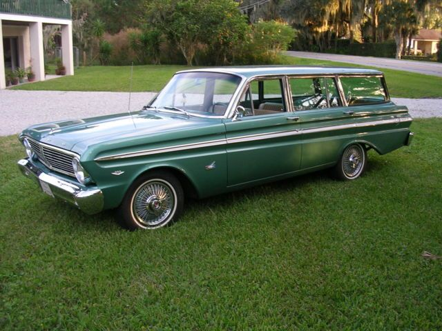 1965 Ford Falcon Futura Station Wagon With Images Ford Falcon