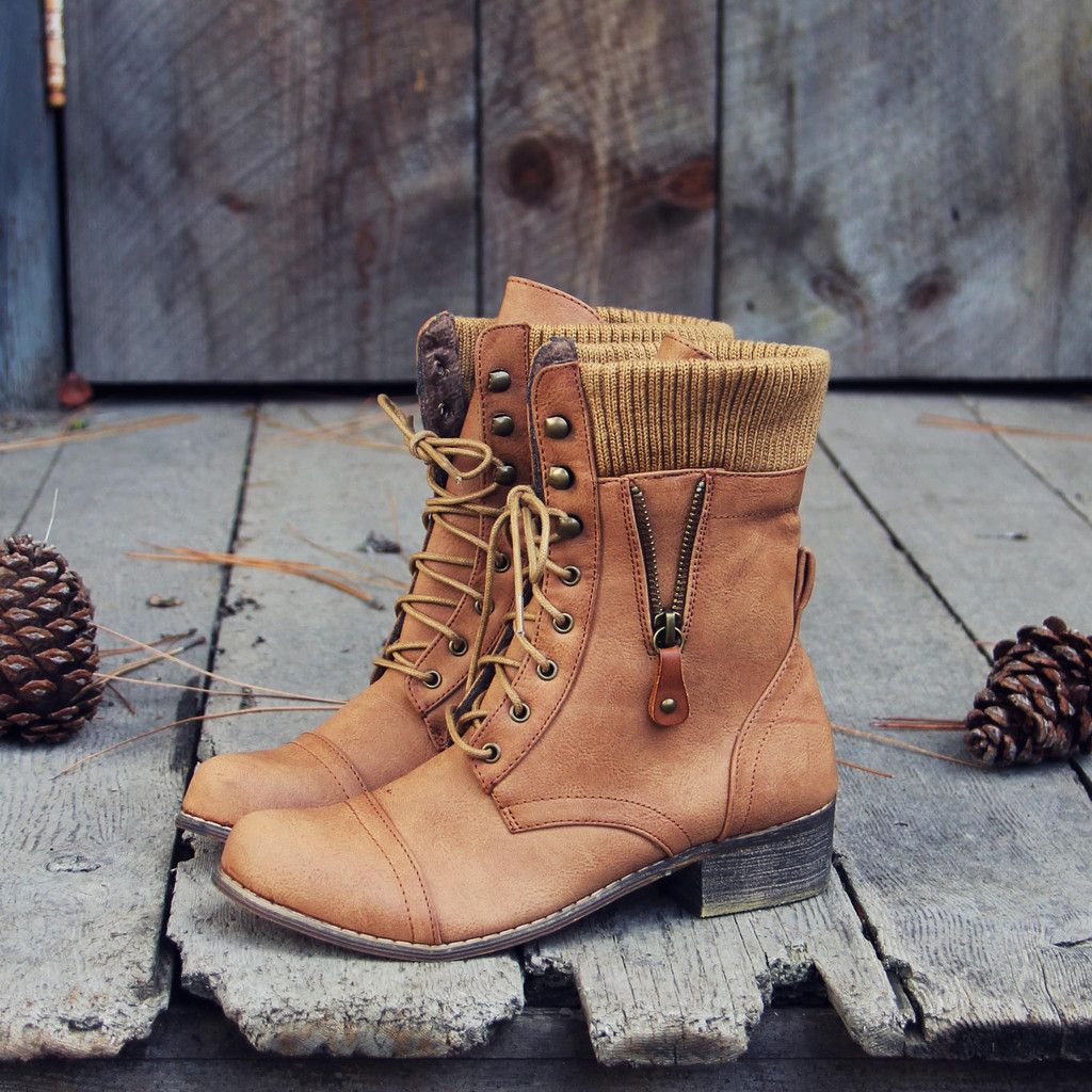 Heirloom Sweater Boots, Sweet & Rugged boots from Spool No.72 | Spool No.72