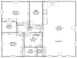 This Site Has Several Post Frame House Plans With Frame And Finished Prices So We Can