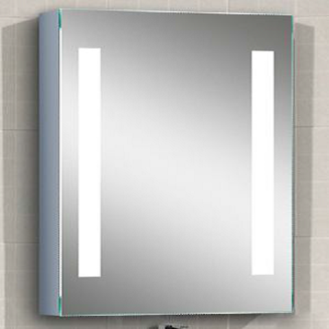stella led wall mounted vertical striped medicine cabinet 20 rh pinterest com