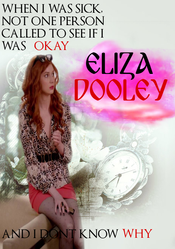 Eliza Dooley fanart #selfieabc