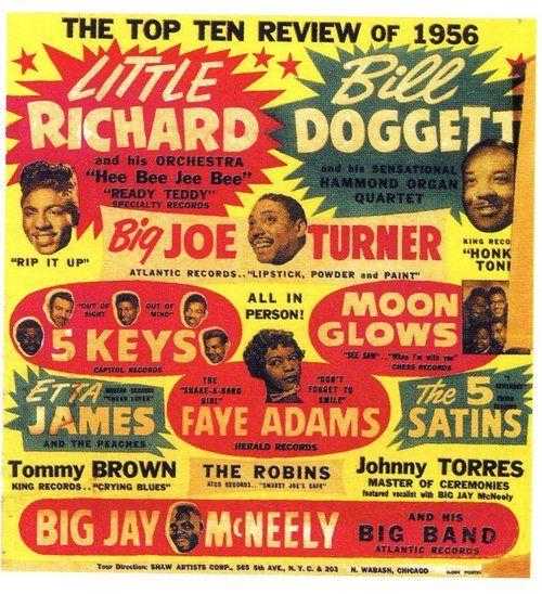 Old School Little Richard concert poster...