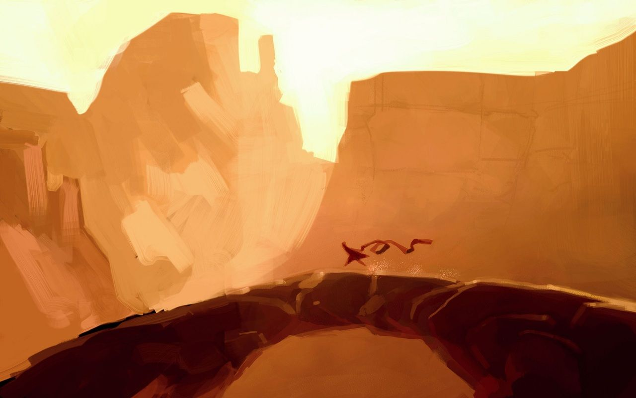 Heres Some Great Concept Art For The Game Journey It Really Captures Mood And Has Such Depth While Being Minimalist Beautiful