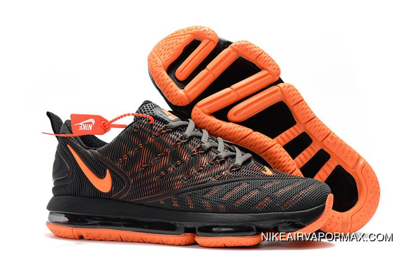 new arrival 527f2 9a9ce 2019 Nike Air VaporMax Nanotechnology New Technology Environmental  Protection Tasteless Full Zoom Running Shoes Black Orange Best