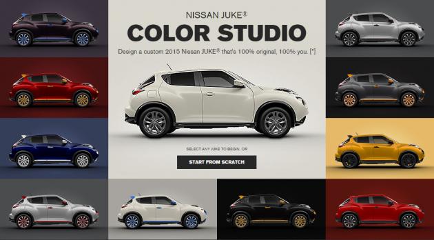Juke Color Studio Lets Your Freak Flag Fly The News Wheel Nissan Juke Nissan New Cars