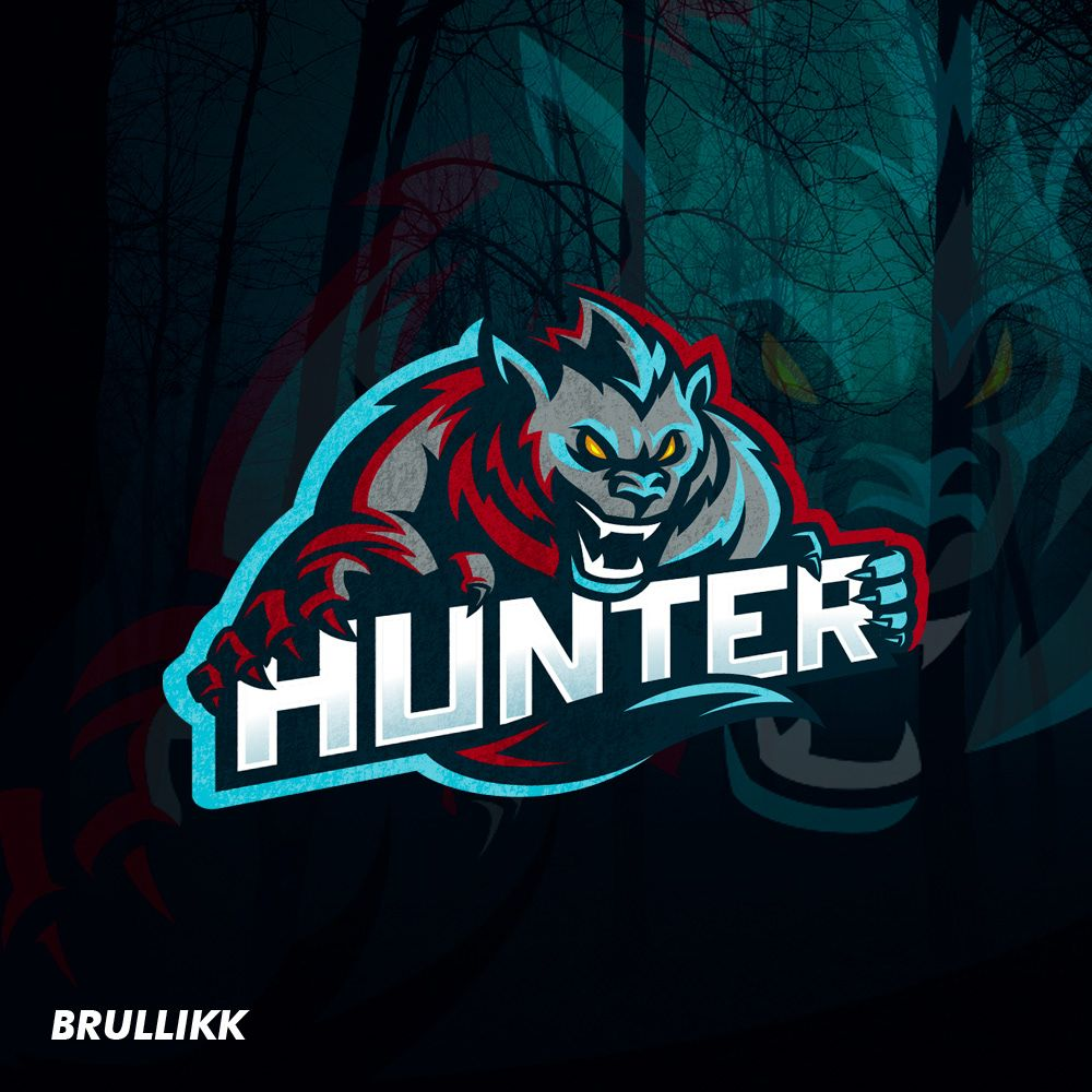 SOLD. Werewolf sports logo mascot on Behance Logo