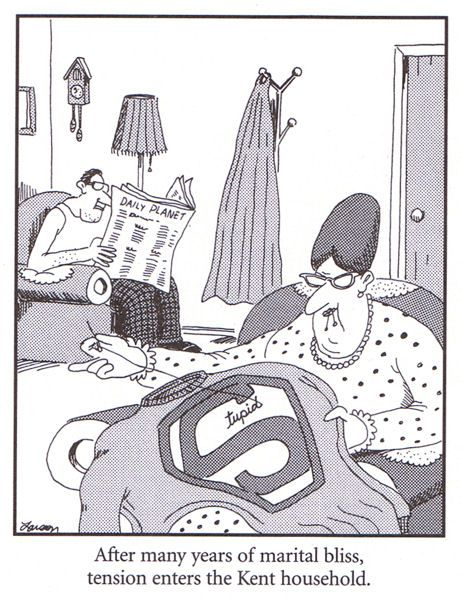 farside | Ok, boys and girls, here's another Far Side cartoon for you.
