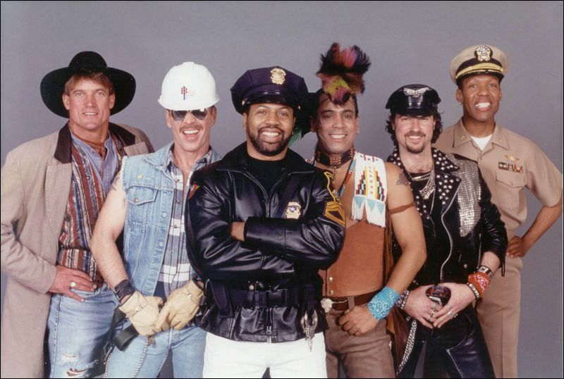 Village People are disco era ambassadors (With images