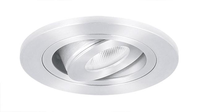 Inbouwspot Led Badkamer : Led inbouwspot monza aluminium rond ip65 straalwaterdicht dimbaar