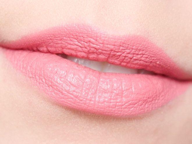 Wearing the Rimmel Kate Moss Lasting Finish Matte Lipstick