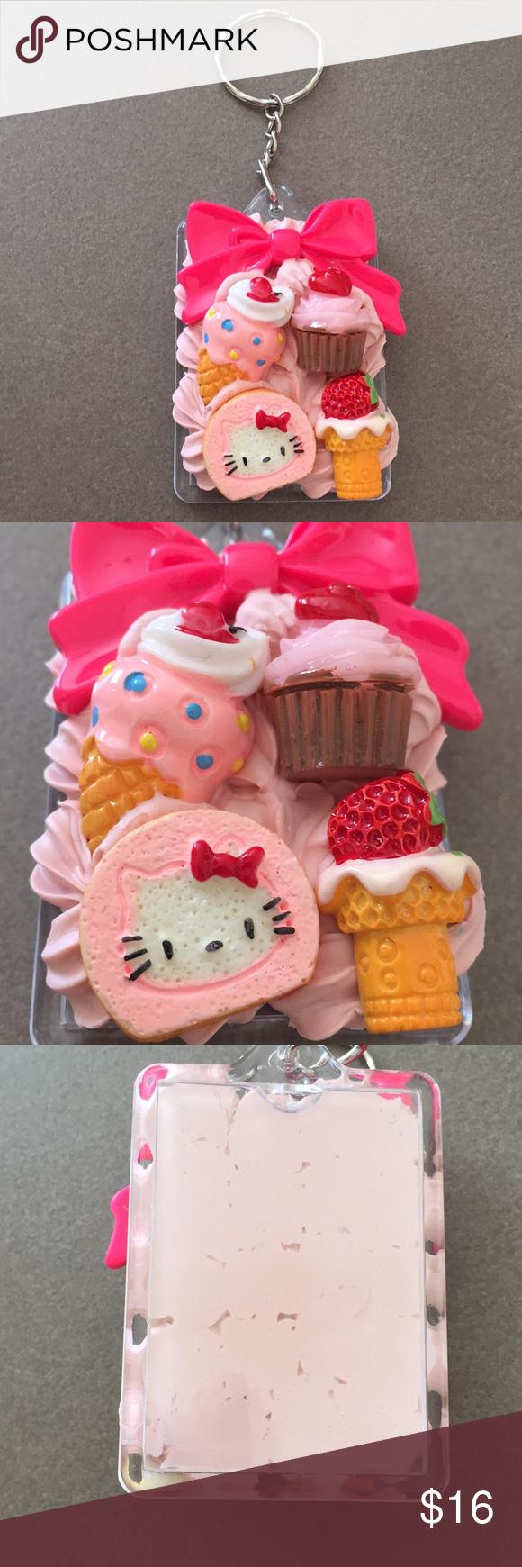 Hello Kitty Treat Key Chain (With images) Cat treats
