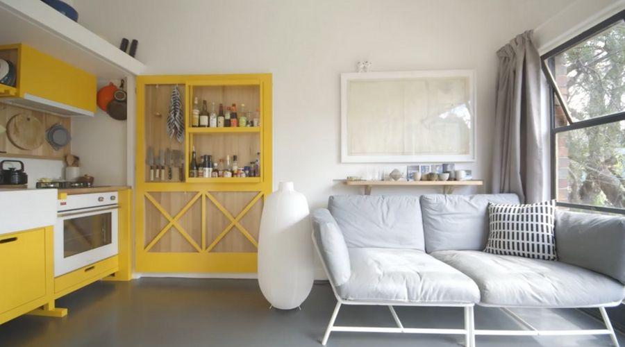 Nunca es demasiado pequeño Un micro apartamento en Australia