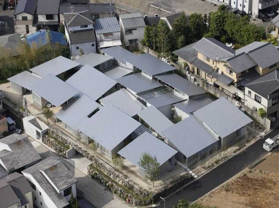 Nishinoyama house sanaa kazuyo sejima associates the for Current architectural styles
