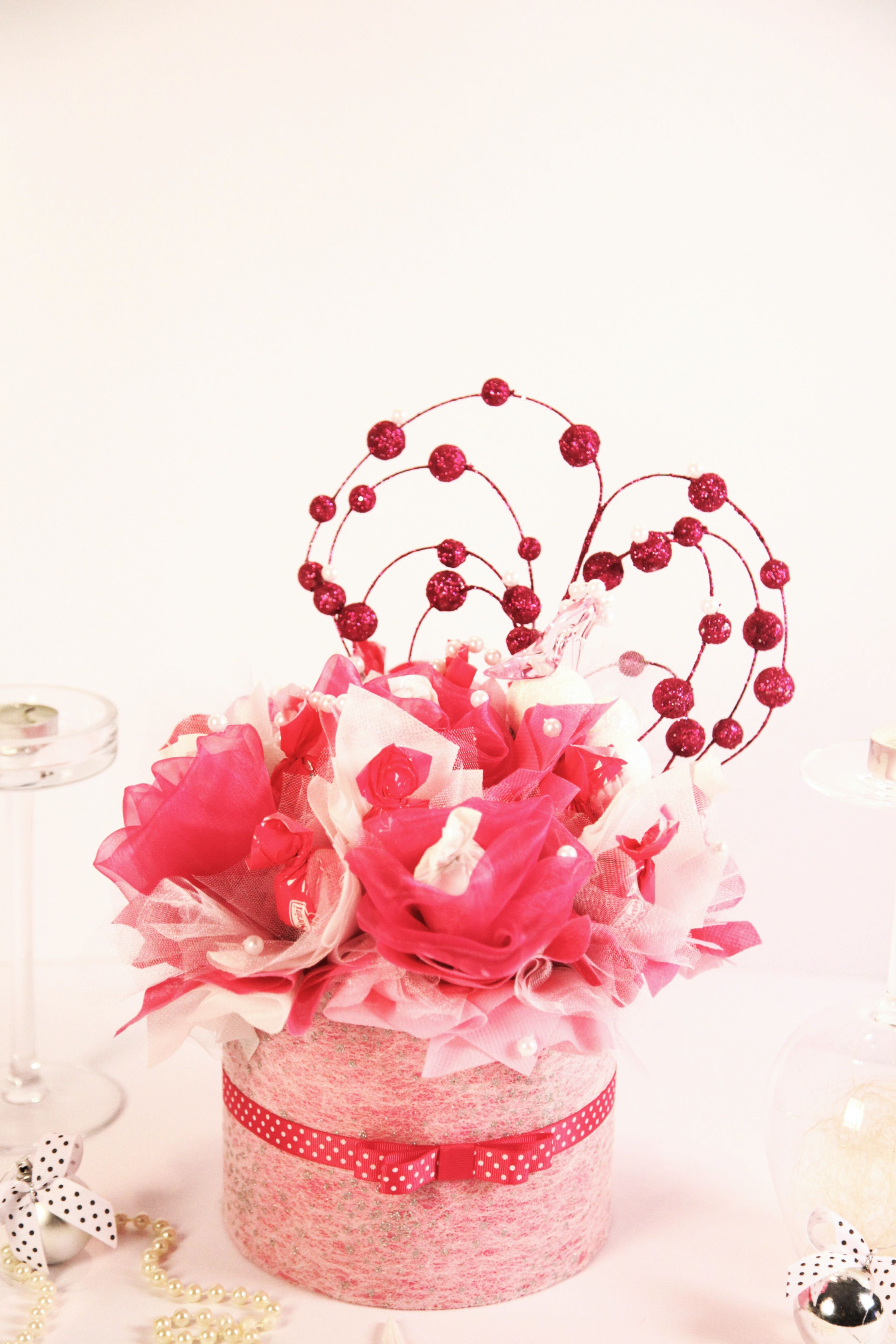 valentine's day chocolate bouquet | chocolate and flowers ...