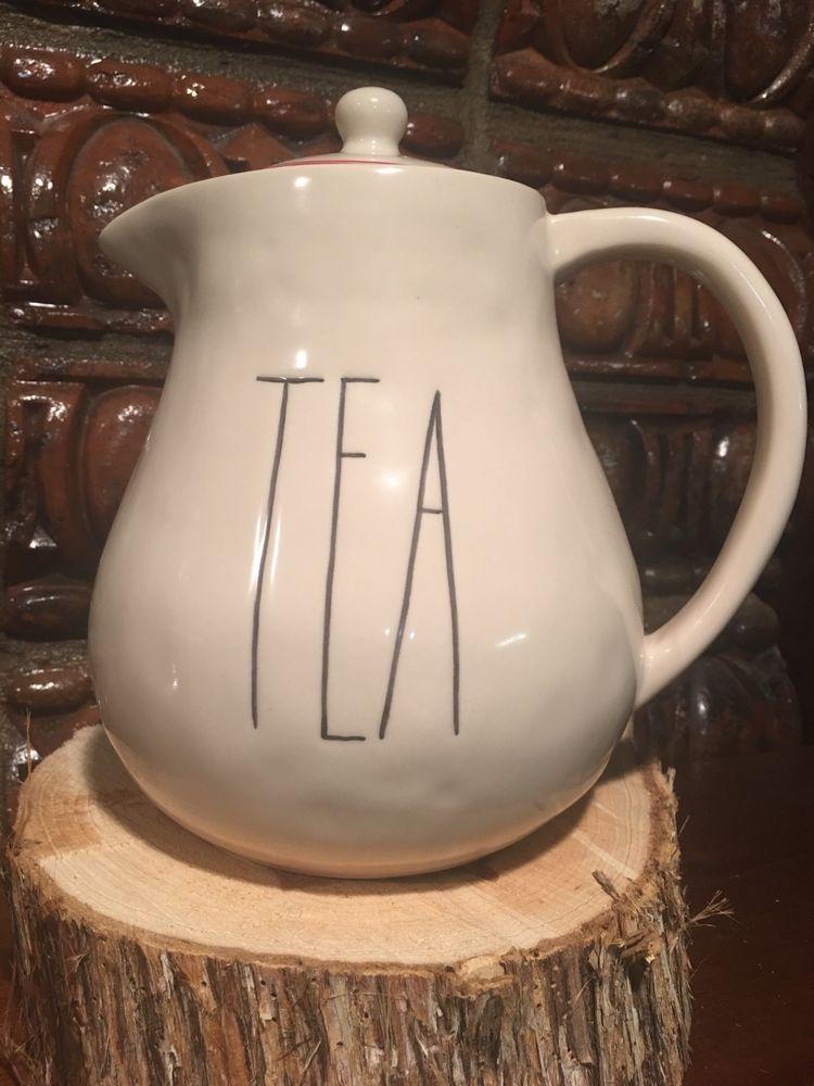 Rae Dunn Tea Teapot From Boutique Collection Rare