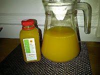 Turmeric health elixir.