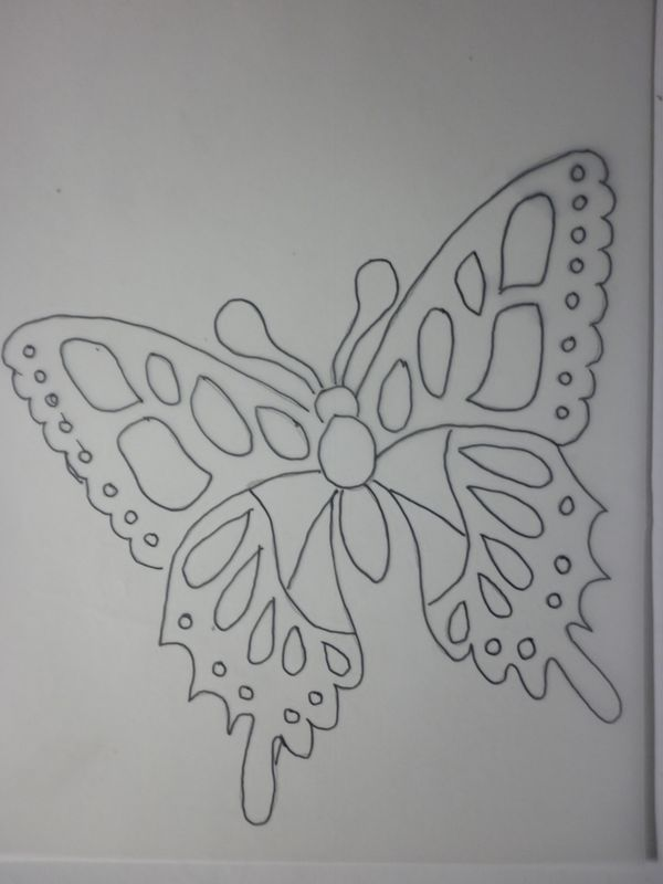 1000 images about papillons on pinterest - Dessin Sable Color