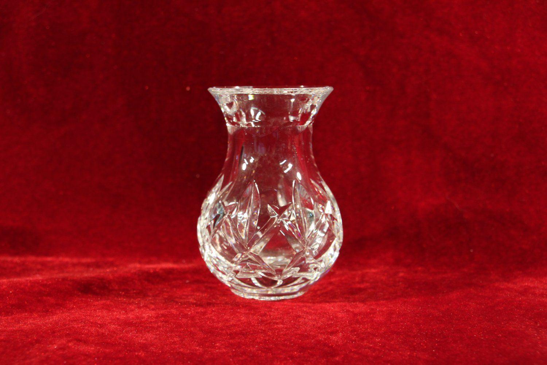 Vintage waterford crystal bud vase foliage pattern antique vintage waterford crystal bud vase foliage pattern reviewsmspy