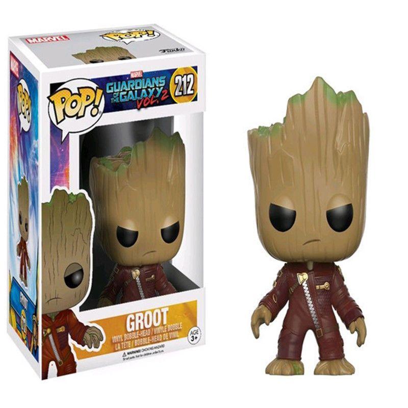 Funko Pop Vinyl Figura De Acci贸n Juguete Guardianes De La Galaxia Vol 2 Groot Figura De Acci Pop Vinyl Figures Pop Figurine Groot Toy