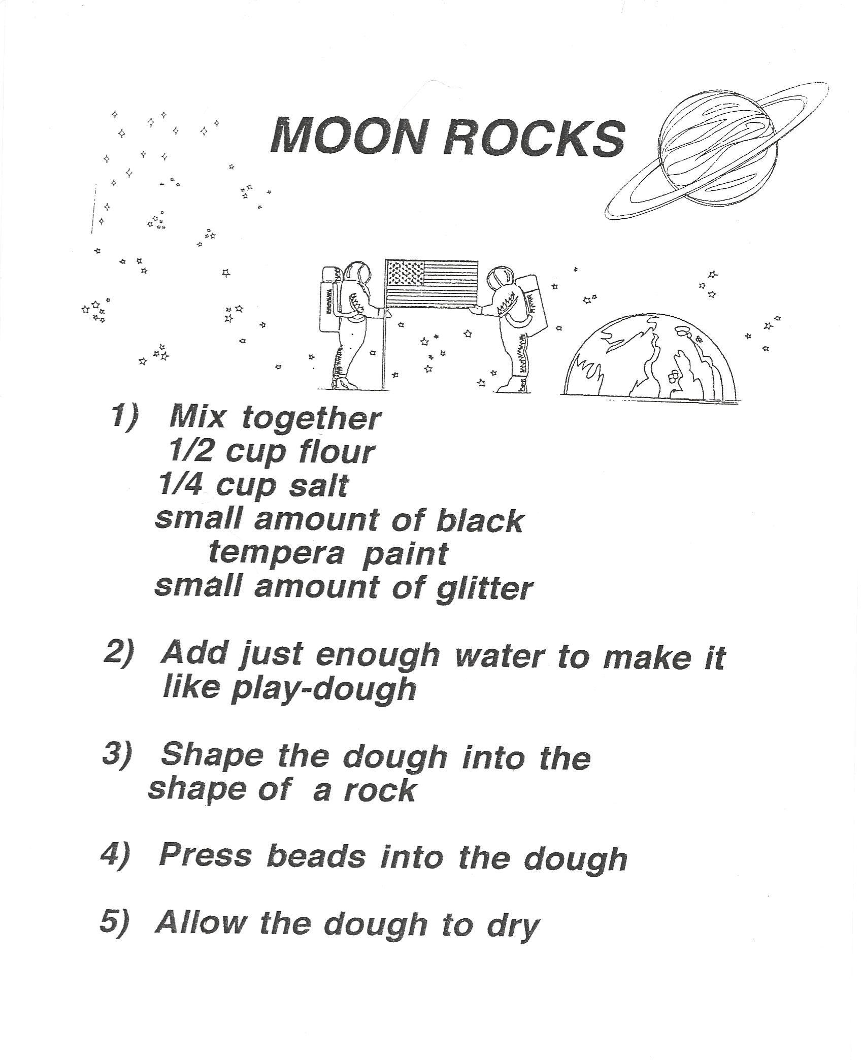 Moon Rock Recipe