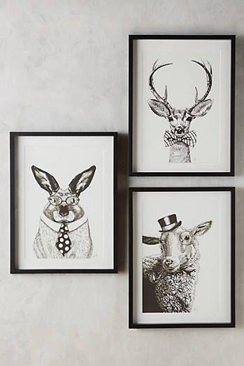 society animal wall art