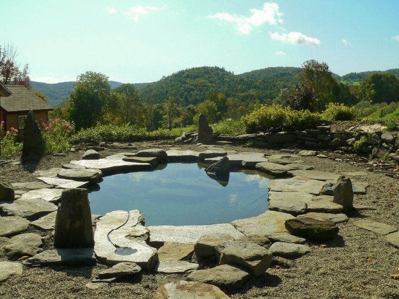Natural Swimming Pool Project Page | Water House Pools. All The Limestone I  Need To