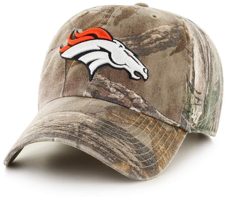 72d6847af42c3 Adult  47 Brand Denver Broncos Clean Up Adjustable Cap in 2019 ...