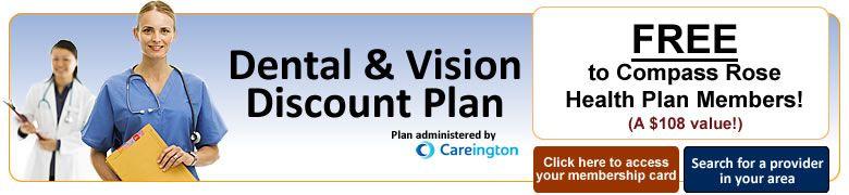Dental vision discount plan crbg careington how to