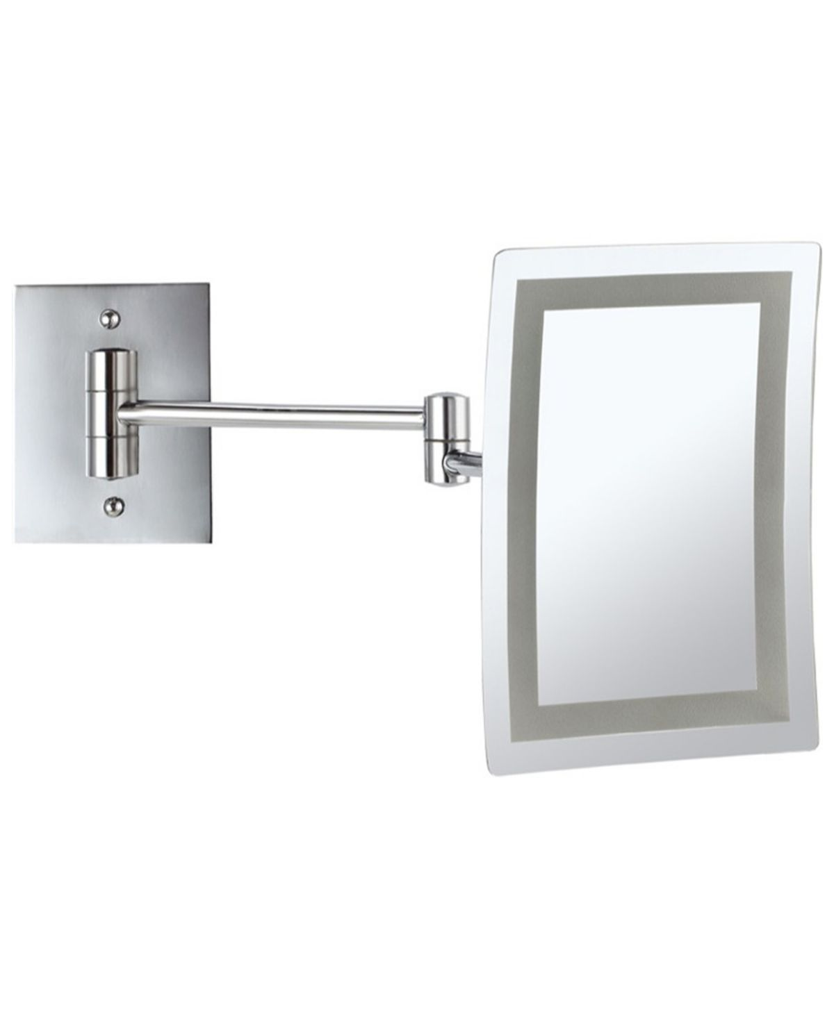 Nameeks Glimmer Wall Mounted Square Led 3x Makeup Mirror Reviews