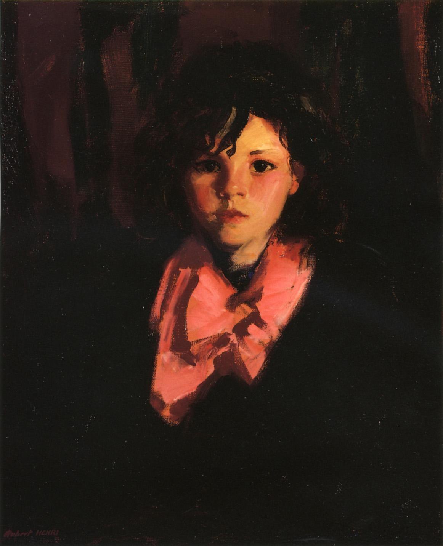 Robert Henri - Portrait of Mary Ann - 1926