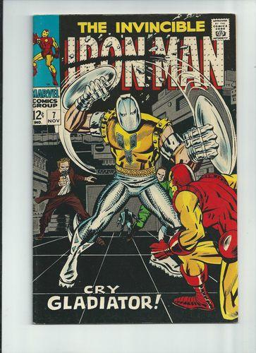 IRON MAN #7 Fantastic Silver Age find from Marvel Comics! GRADE 8.5 http://r.ebay.com/myQhVb