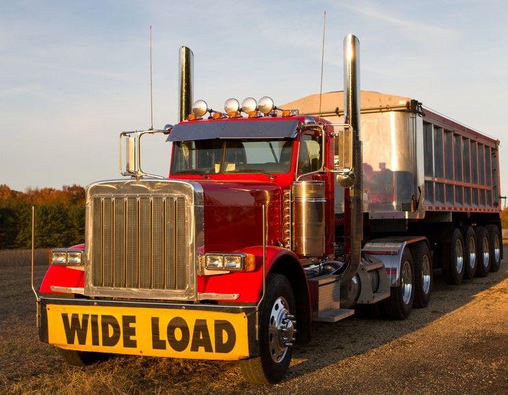 PETERBILT. SemiTipper. Trucks, Pickup trucks, Big trucks
