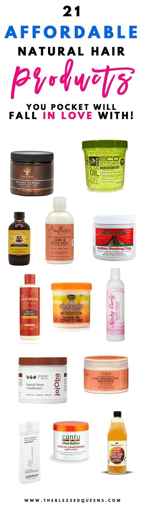 Best Affordable Natural Hair Products Your Pocket Will Love