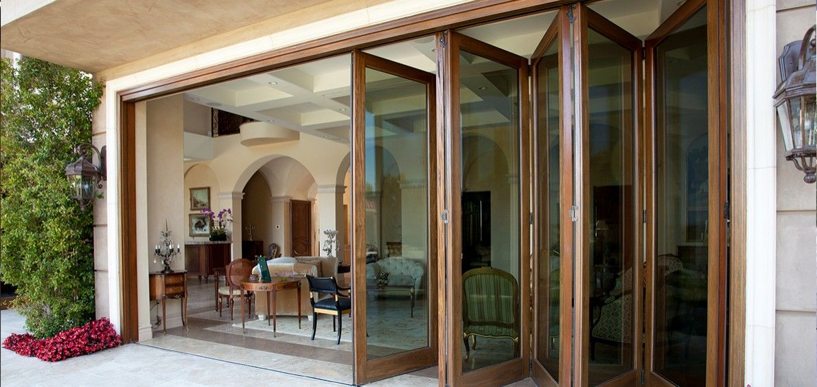 Superb Folding Patio Doors | ... Patio Doors 3 Swinging Patio Doors 4 Multi Slide Patio  Door System